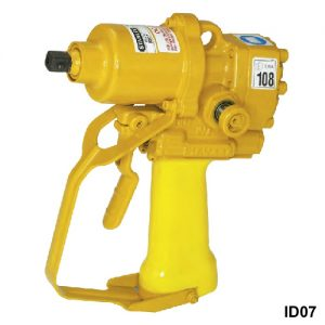 Underwater drill in yellow